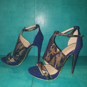 Bebe Strappy High Heels - Size S